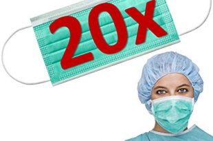 20x resch op mundschutz maske einwegmasken en 14683 testsieger 2020 maske atemschutz mundmaske hygienemaske atemschutzmaske zur prophylaxe gruen oder weiss 310x205 - 20x RESCH OP Mundschutz Maske - EINWEGMASKEN - EN 14683 - TESTSIEGER 2020 - Maske Atemschutz Mundmaske Hygienemaske Atemschutzmaske zur Prophylaxe, grün oder weiss