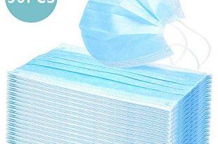 50000pcs einweg op maske gesichtsmaske 3 lagig mundschutz staubschutz infektionsschutz schutzmaske atemschutzmaske mit ohrschlaufen schuetzt vor verschmutzungen blau 310x205 - 50000pcs Einweg OP-Maske Gesichtsmaske 3-lagig Mundschutz Staubschutz Infektionsschutz Schutzmaske Atemschutzmaske mit Ohrschlaufen schützt vor Verschmutzungen (Blau)