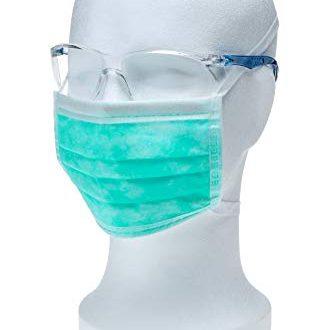 5x Medizinischer Einmal Mundschutz Typ II mit latexfreiem Elastikband