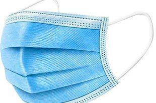 bttnw ac medizinisches masken einweg gesichtsmaske arzt masken sterilisiertes virus 3 schicht 50pcs zufaellige farbe einweg maske farbe blau size one size 310x205 - BTTNW AC Medizinisches Masken Einweg-Gesichtsmaske Arzt Masken sterilisiertes Virus 3 Schicht-50pcs (zufällige Farbe) Einweg-Maske (Farbe : Blau, Size : One Size)