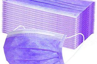 PPangUDing Mundschutz 102050100200 Stueck Einweg 3 lagig Sommer Atmungsaktiv Staubdicht Multifunktionstuch 310x205 - PPangUDing Mundschutz 10/20//50/100/200 Stück Einweg 3-lagig Sommer Atmungsaktiv Staubdicht Multifunktionstuch Schlauchtuch Bandana für Herren Und Damen