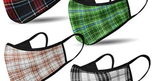 Mundschutz Maske mit Motiv – 4er Baumwoll Masken bunt lustig 310x165 - Mundschutz Maske mit Motiv – 4er Baumwoll Masken bunt, lustig, komisch – für Männer, Frauen & Kinder